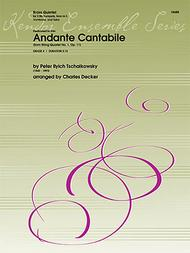 Andante Cantabile (from String Quartet No. 1, Op. 11)