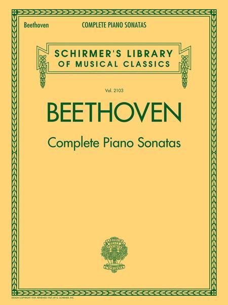 Beethoven - Complete Piano Sonatas Sheet Music By Ludwig Van