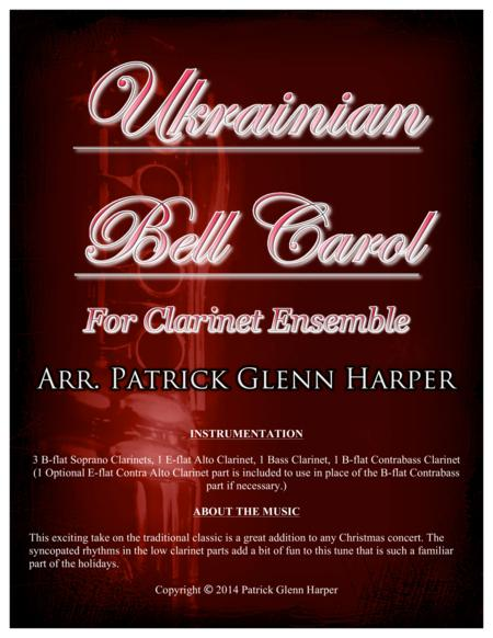 Ukrainian Bell Carol - for Clarinet Choir