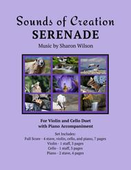 Sounds of Creation: Serenade (violin and cello duet with piano accompaniment)