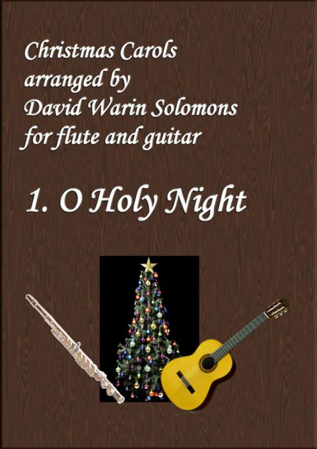 Christmas Carols for flute and guitar No 1 O Holy Night
