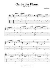 Gerbe des Fleurs, Op. 41, No. 1