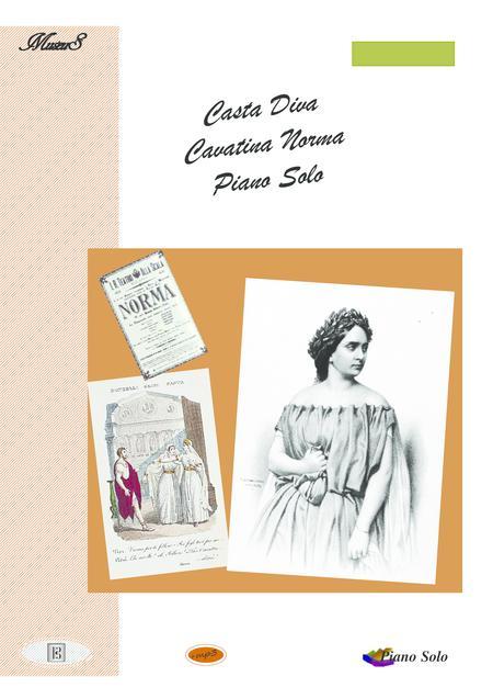 Casta Diva  classical piano solo