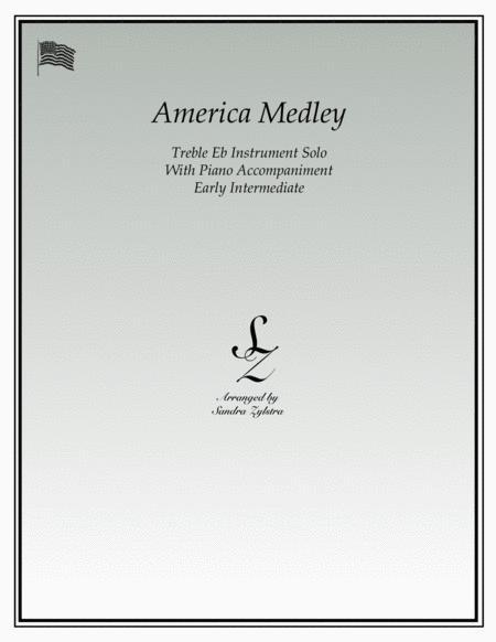 America (treble Eb instrument solo)