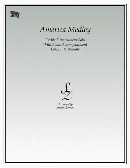 America (treble F instrument solo)