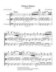 Chinese Dance (Nutcracker Suite): String Trio