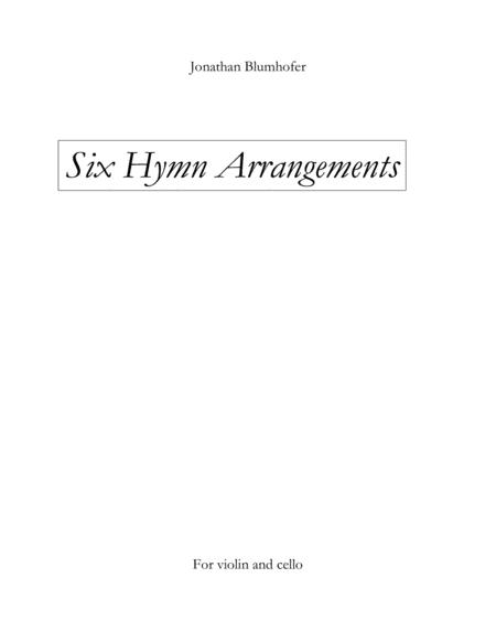 Seven Hymn Arrangements for Violin and Cello