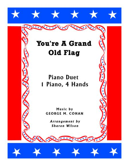 You're A Grand Old Flag (1 Piano, 4 Hands Duet)