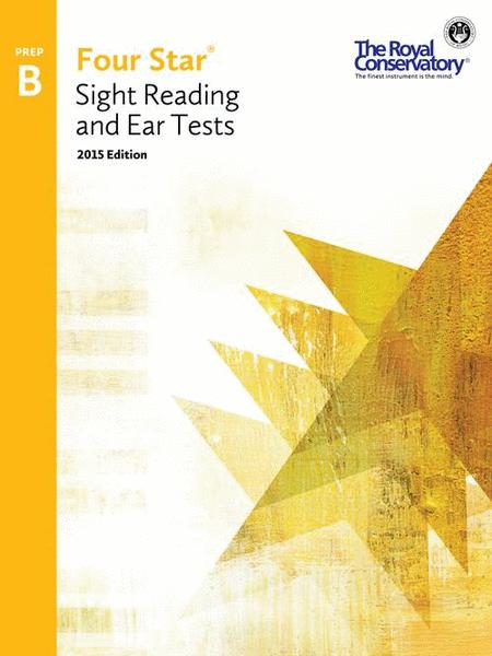 Four Star Sight Reading and Ear Tests Preparatory B
