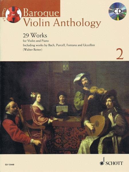 Baroque Violin Anthology Vol. 2