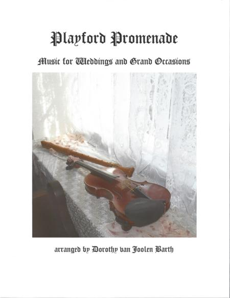 Playford Promenade: Music for Weddings and Grand Occasions