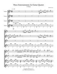 Fiesta (Guitar Quartet) - Score and Parts