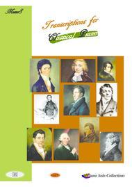 Piano solo pieces of 19th Century