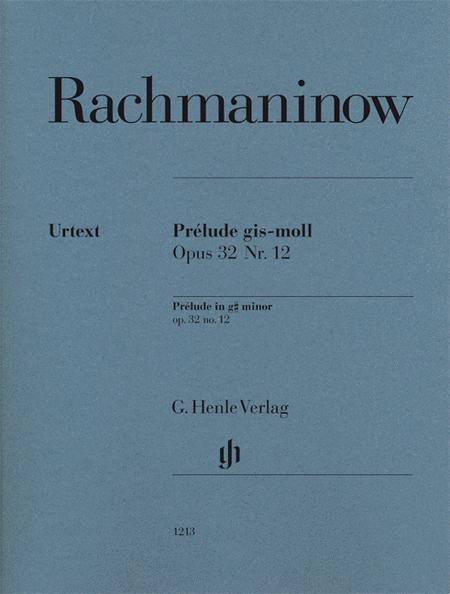 Prelude in G-sharp minor, Op. 32 No. 12