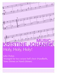 Holy, Holy, Holy! (2 octave Handbells, Tone Chimes or Hand Chimes)
