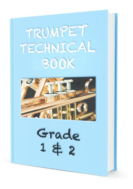AMEB Compatible Trumpet Scales Grade 1 and 2