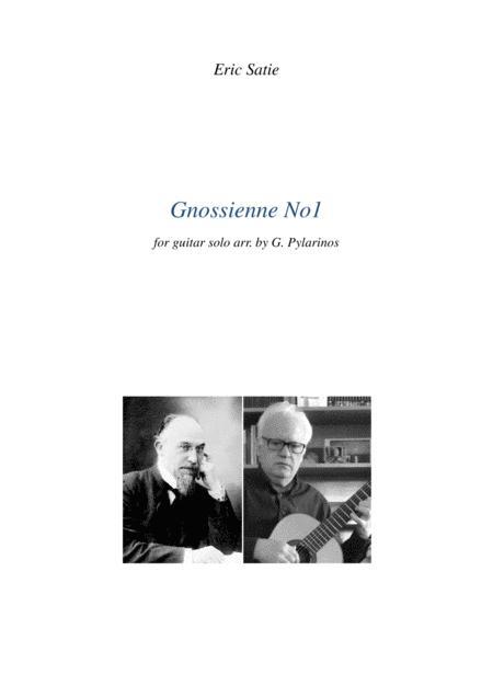 Gnossienne no1 for guitar solo