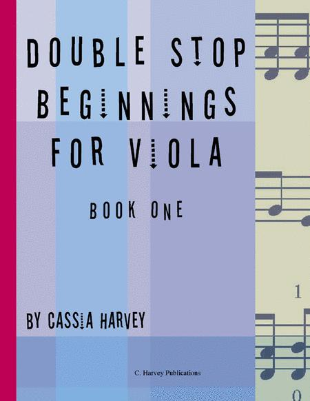 Double Stop Beginnings for the Viola, Book One