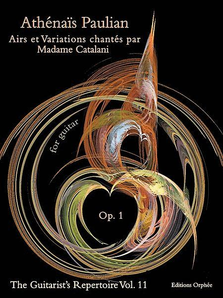 Airs et variations chantes par Madame Catalani
