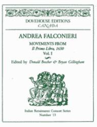 Movements from Il Primo Libro, 1650 Vol. 1