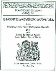 15th Anonymous Chansons, Vol. Ia