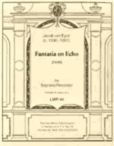 Echo Fantasia, SwWV 275 (Sweelinck, Jan Pieterszoon)