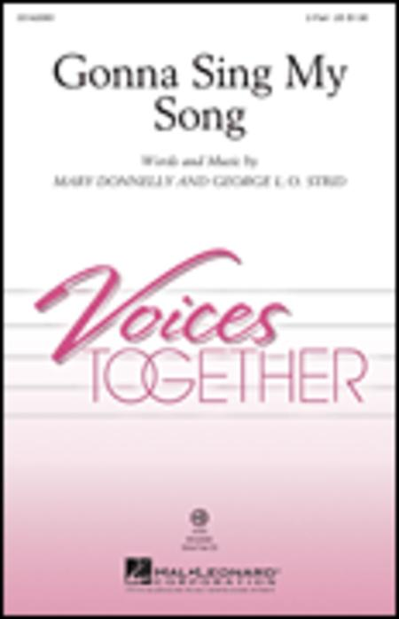 Gonna Sing My Song - ShowTrax CD