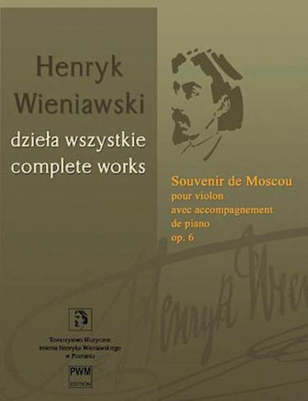Souvenir de Moscou, Op. 6 - Violin with Piano Accompaniment