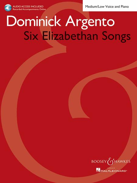 Six Elizabethan Songs - Medium/Low Voice - New Edition - With Online Accompaniments