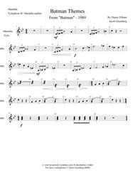 Batman 1989 Theme for Percussion ensemble