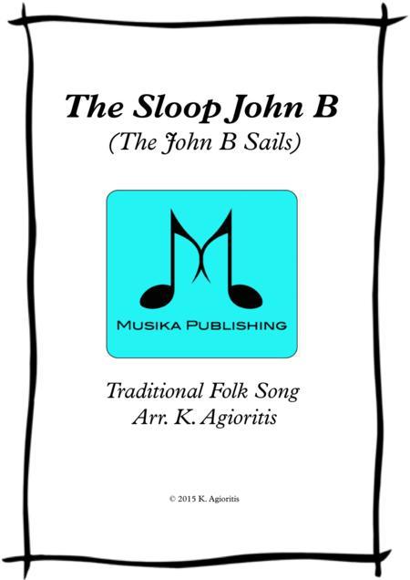 The Sloop John B (The John B Sails) - Saxophone Quartet