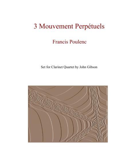 Clarinet Quartet - Poulenc - 3 Mouvements Perpetuels
