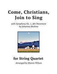 Come, Christians, Join to Sing (for String Quartet)