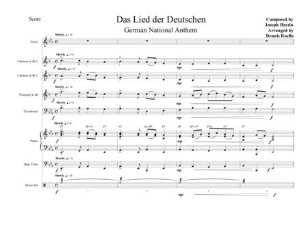 Das Lied der Deutschen (German National Anthem) - Oktoberfest
