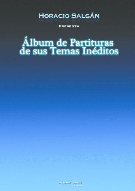 Album de Partituras Inéditas de Horacio Salgán