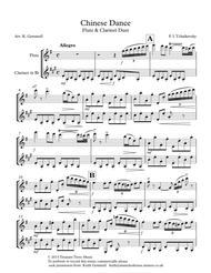 Chinese Dance (Nutcracker Suite): Flute & Clarinet Duet