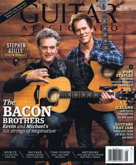 Guitar Aficionado Magazine May / June 2015