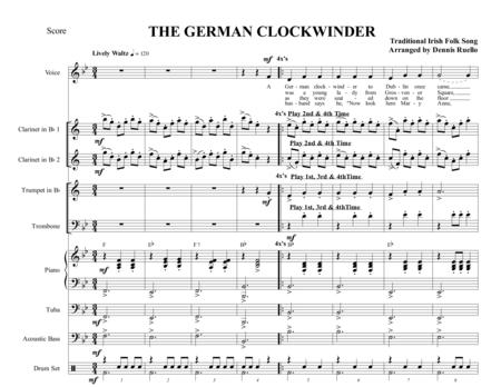 THE GERMAN CLOCKWINDER - OKTOBERFEST - OPTIONAL VOCAL