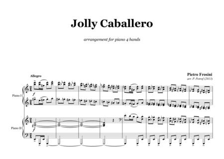 Jolly Caballero - for piano 4 hands