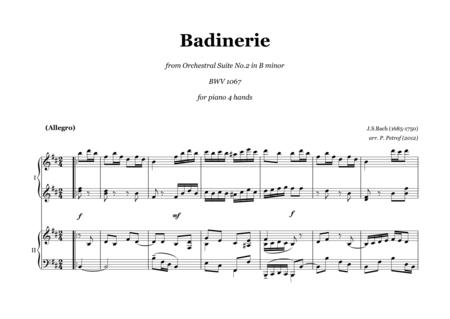 Badinerie - from Orchestral Suite No.2 in B minor  BWV 1067