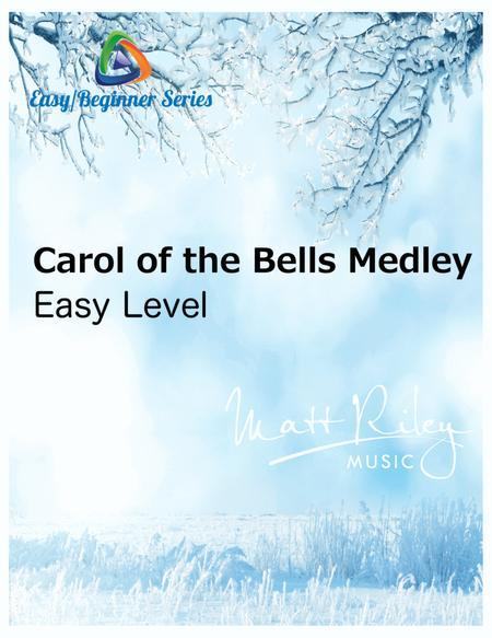 Carol of the Bells / God Rest Ye Merry Gentlemen - 4 Clarinets (with optional Bass Clarinet part)