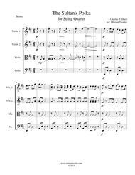 The Sultan's Polka for String Quartet