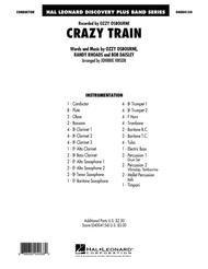 Crazy Train - Conductor Score (Full Score)