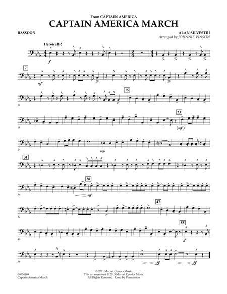 Captain America March - Bassoon