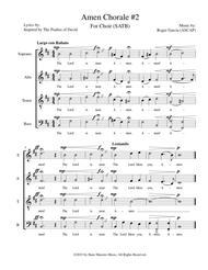 Amen Chorale #2 (SATB)