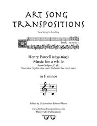 Music for a while (F minor)