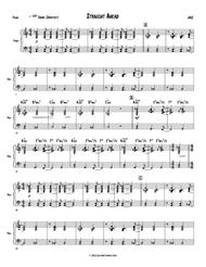 Straight Ahead - Piano