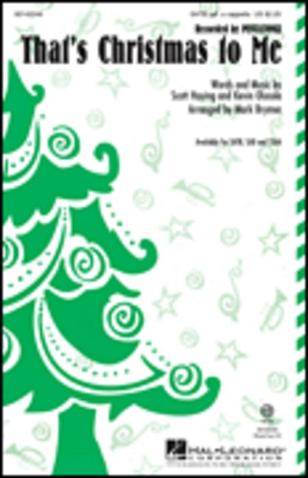That's Christmas to Me - ShowTrax CD