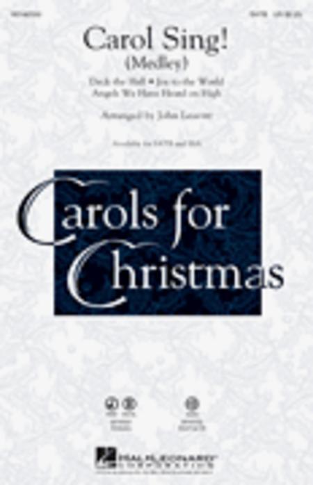 Carol Sing! - ChoirTrax CD