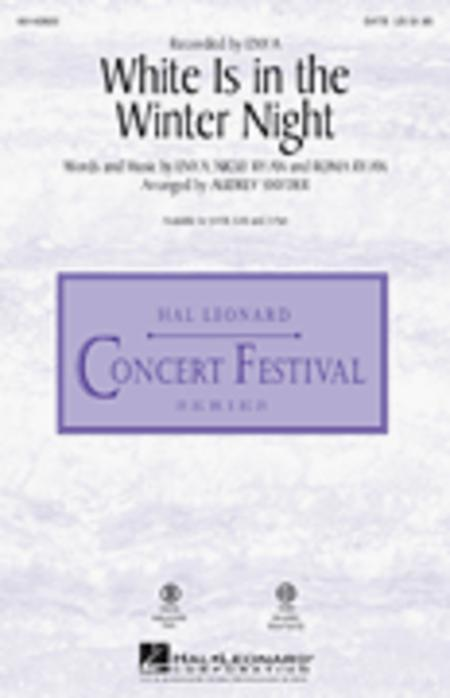 White Is in the Winter Night - ShowTrax CD